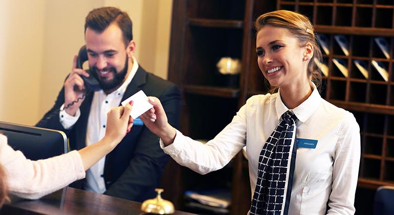 Formação de francês para profissionais da Hotelaria