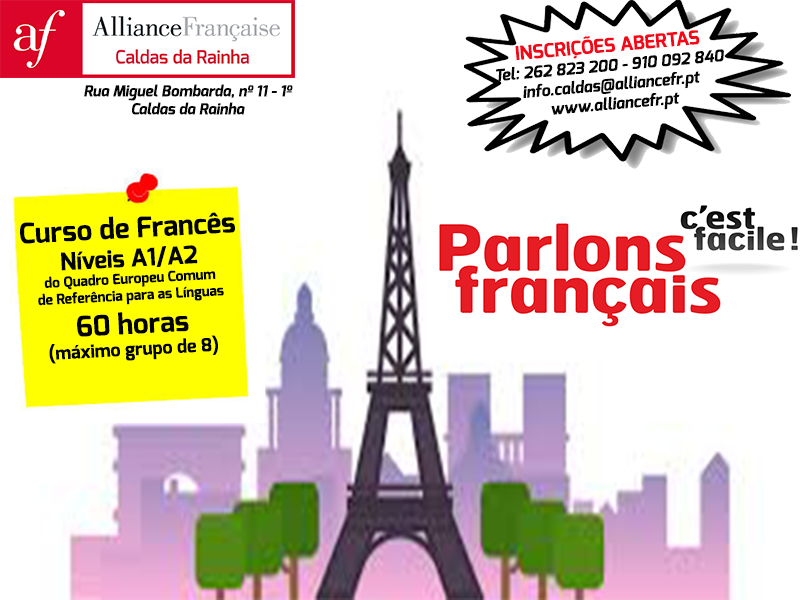 Curso de Francês Intensivo A1/A2 60 H