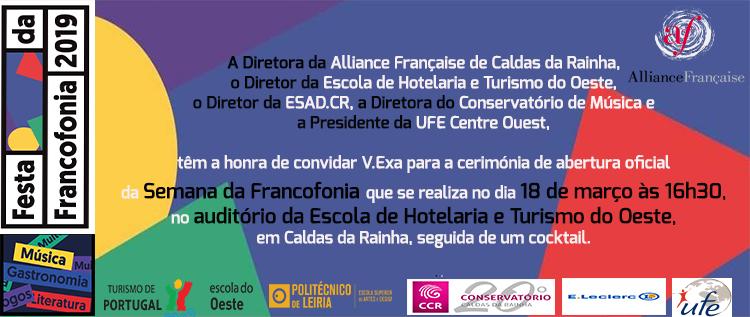 FESTA DA FRANCOFONIA 2019