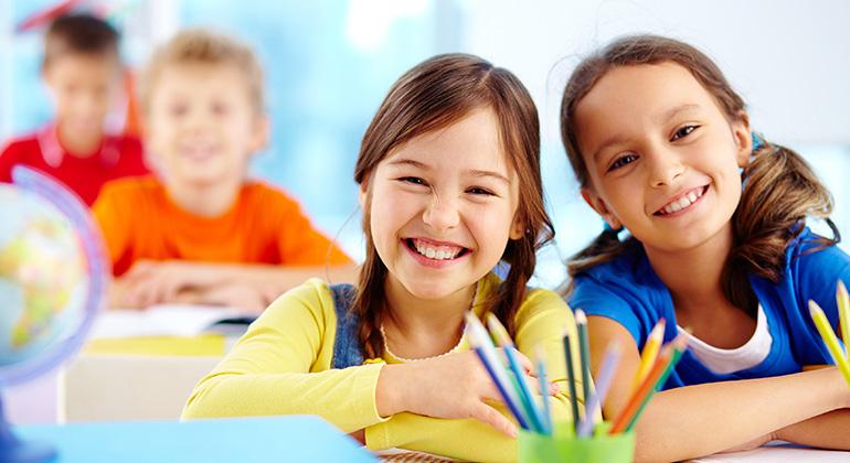 Cursos de francês para crianças e jovens